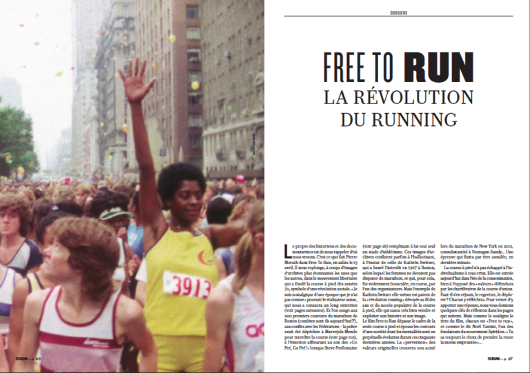 Free to Run de Pierre Morath, la révolution du running