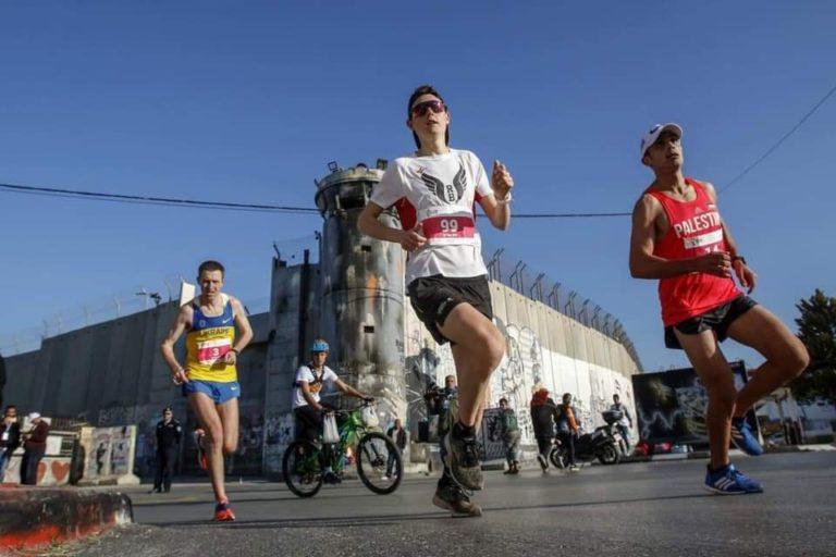 Marathon de Palestine: courir entre les murs